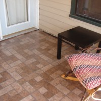 Porch Floor, and Pictures of Spring