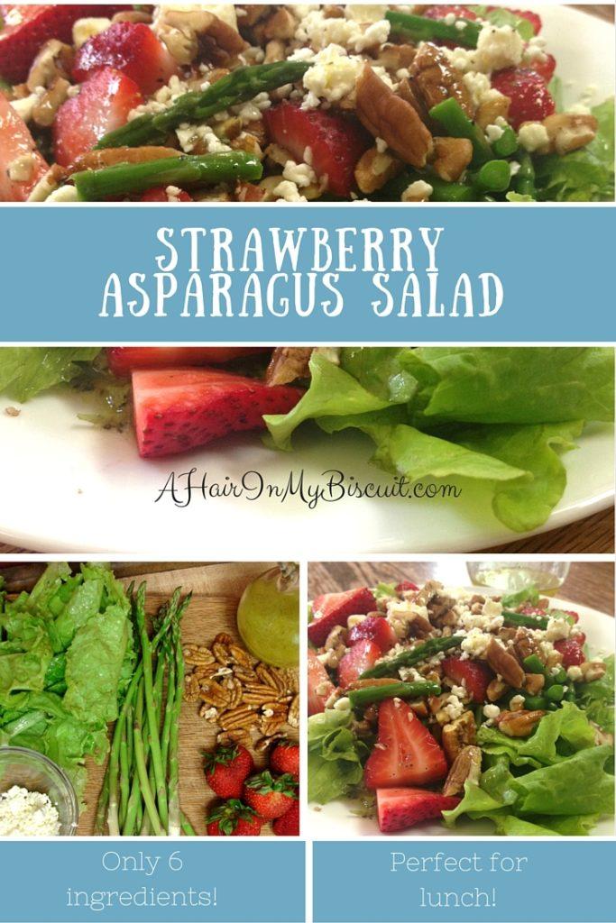 strawberry asparagus salad