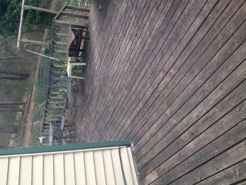 deck before and after makeover