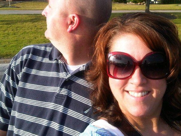 "On a date night a few years ago. Coach struggles with selfies. I said, ""look this way""..."