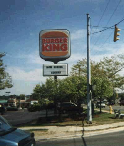 Burger King is hiring