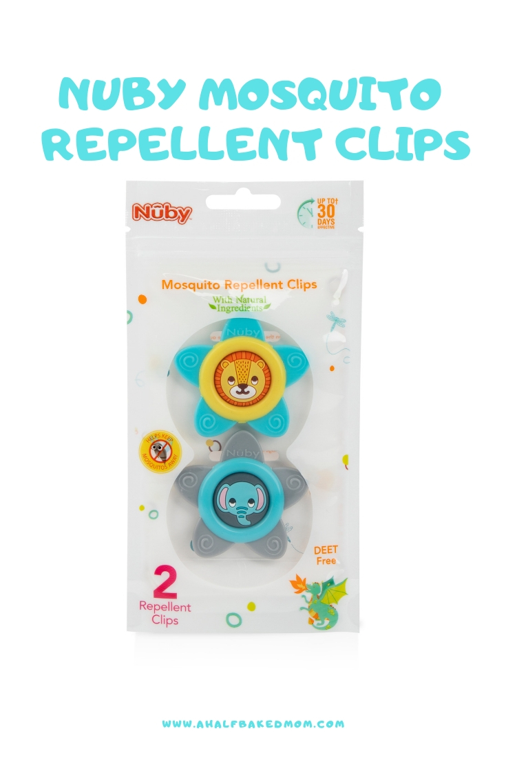 Nuby Mosquito Repellent Clips