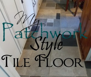 My Patchwork Style Tile Floor