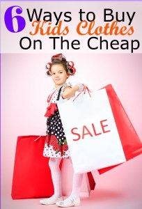 6 Ways to Buy Kids Clothes on the Cheap