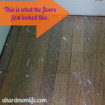 Have you ever been afraid of removing the flooring in your home for fear that the floors underneath might look like this?