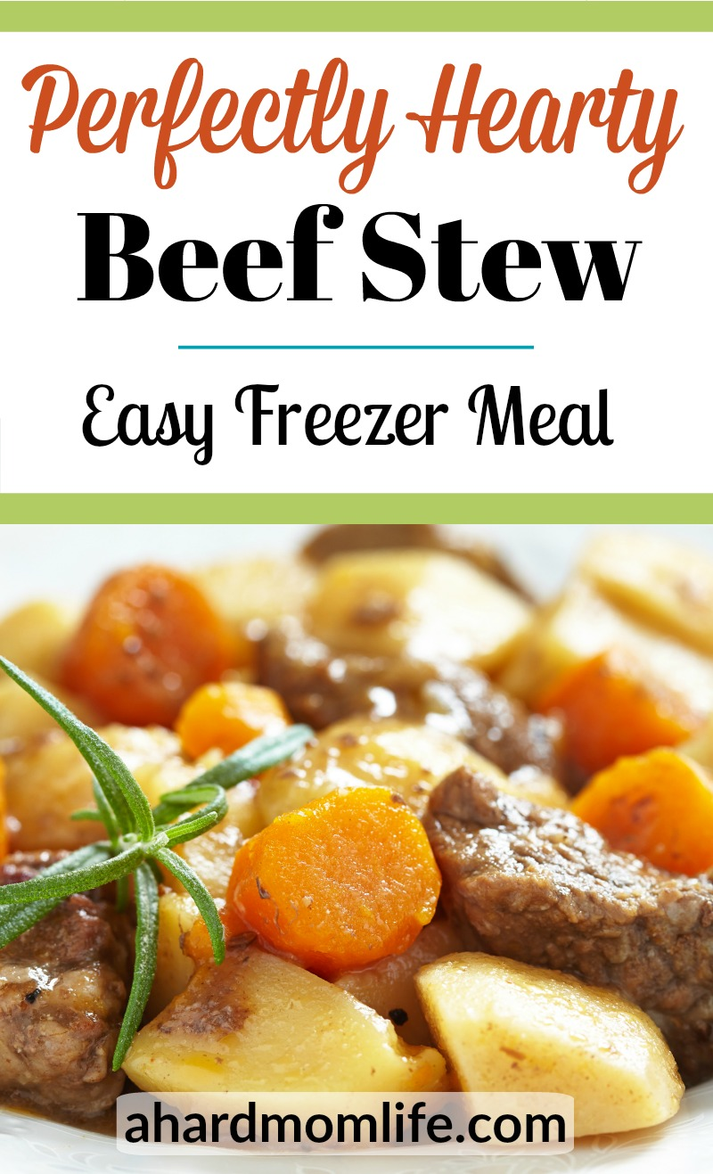 Are you looking for an easy beef stew recipe that will please your family? Look no further because you just found it. You're gonna love this perfectly hearty beef stew. Promise.