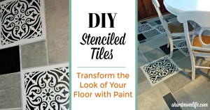 DIY Painted Tiles | Transform the Look of Your Floor with Paint