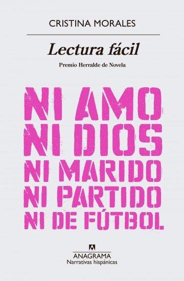 Cubierta del libro Lectura Fácil de Cristina Morales