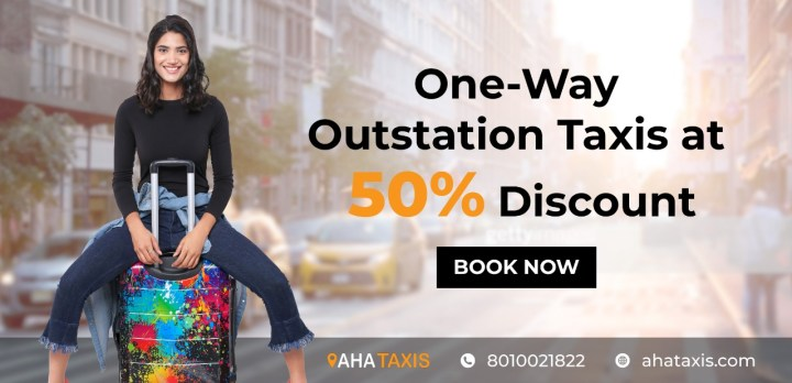Hurry! Limited time offer only by AHA Taxis