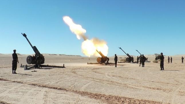 """البوليساريو تقتحم """"المنطقة العازلة"""" وتطلق الذخيرة الحية في الصحراء"""