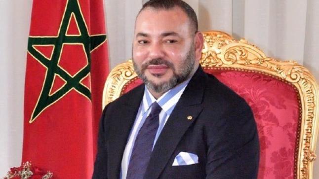 """""""أحداث الداخلة"""" تهنئ جلالة الملك محمد السادس بحلول السنة الميلادية الجديدة"""