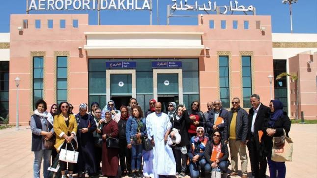زيارة أعضاء مجلس جهة مراكش آسفي لجهة الداخلة وادي الذهب
