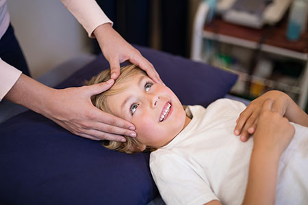 cranial sacral healing touch