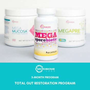 MicroBiome Labs Total Gut Restoration Program