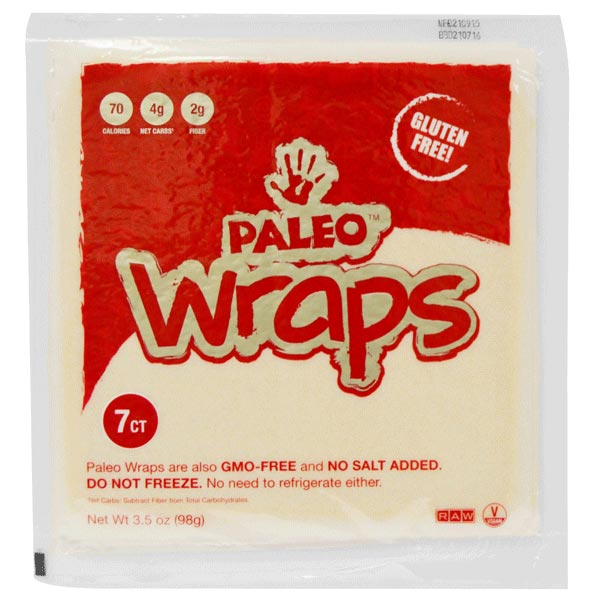 The Julian Bakery Paleo Wraps