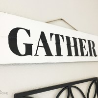 How To Easily Paint Letters onto Wood