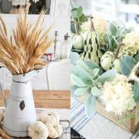 Farmhouse Fall Table Centerpieces