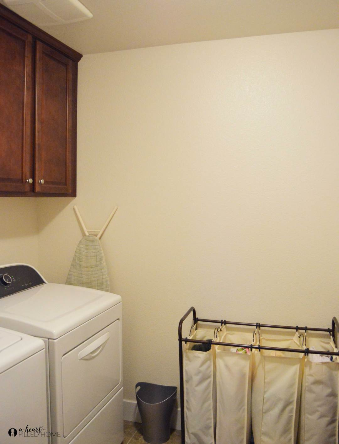 Plans for a budget friendly Farmhouse Laundry Room Makeover!.
