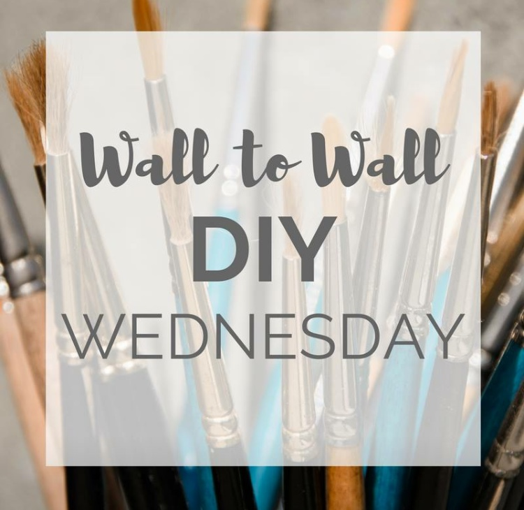 Wall to Wall DIY Wednesday Link-up Party!
