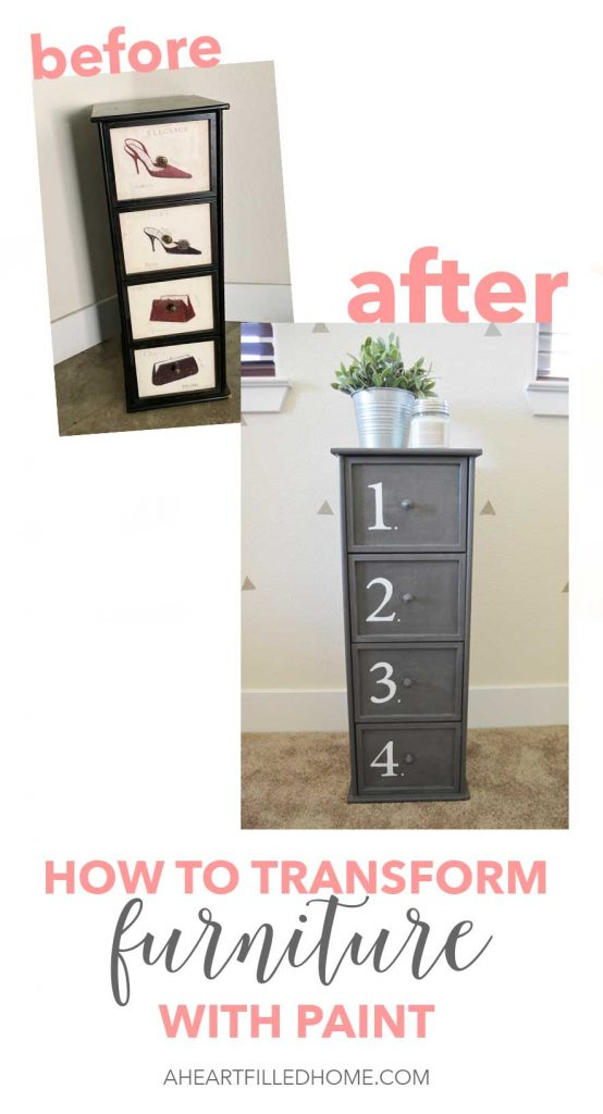 How to transform furniture with paint!