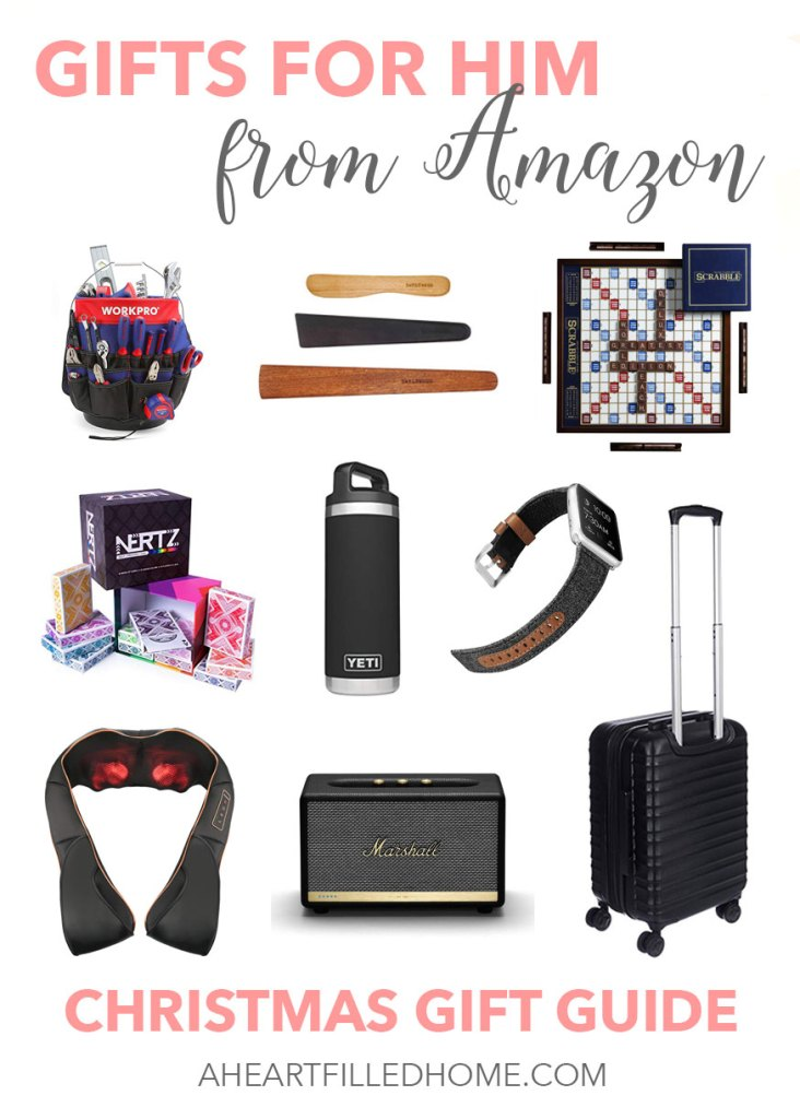 Gifts for Him from Amazon! These amazing gift ideas will help you with your Christmas shopping this season!