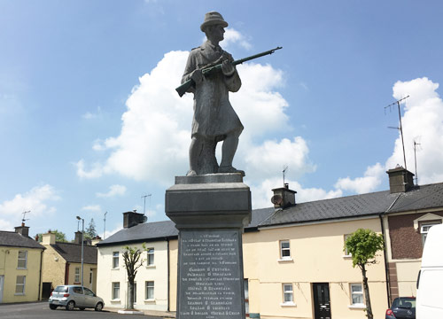 Memorial Statue Galbally