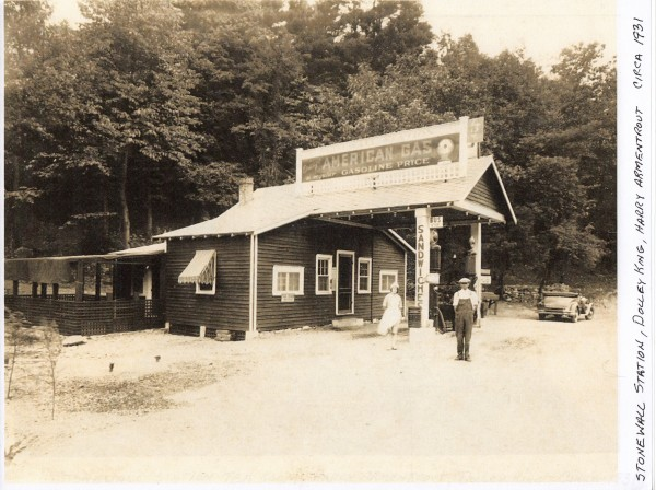 Stonewall Service Station - Callaghan Donated by Richard Hayslett