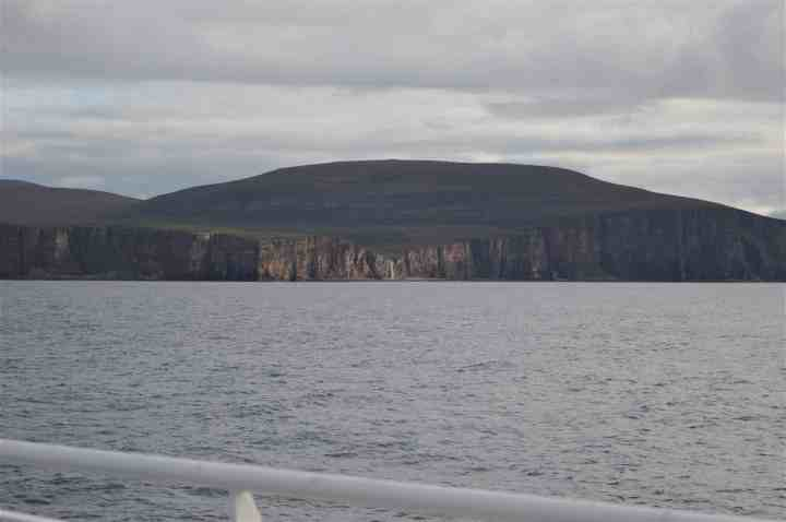 A view of Hoy from MV Hamnavoe.