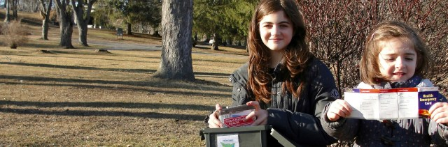 Sisters find geocache