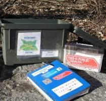 Geocache box crop