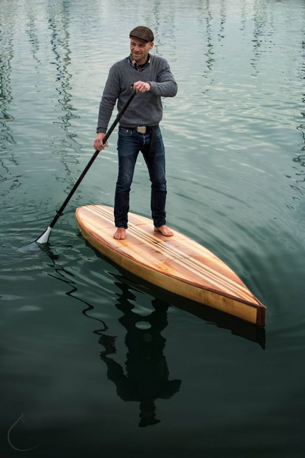 Pascal en stand up paddle race ZEN