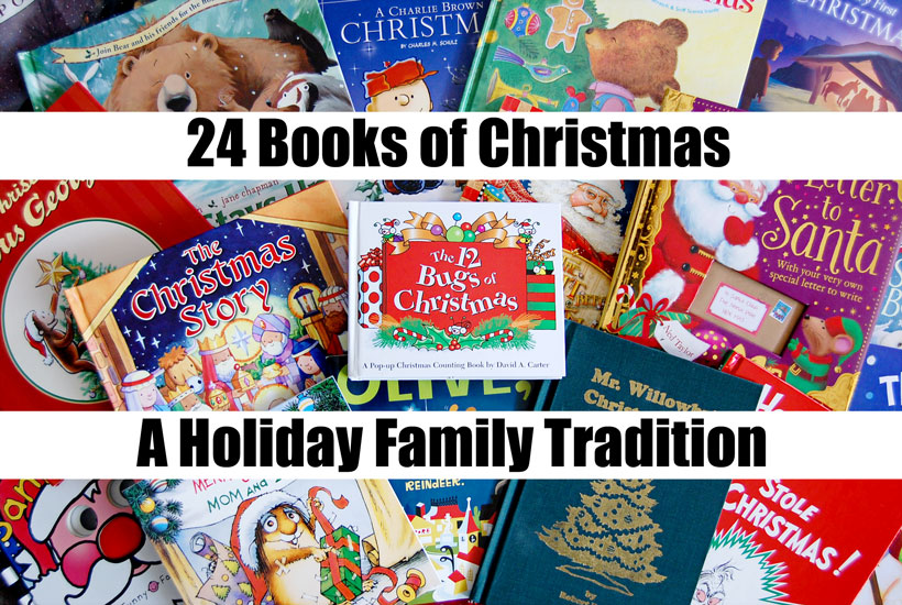 24 Books of Christmas- A Holiday Family Tradtion