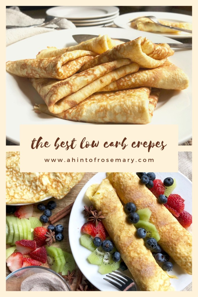 the best low carb crepes