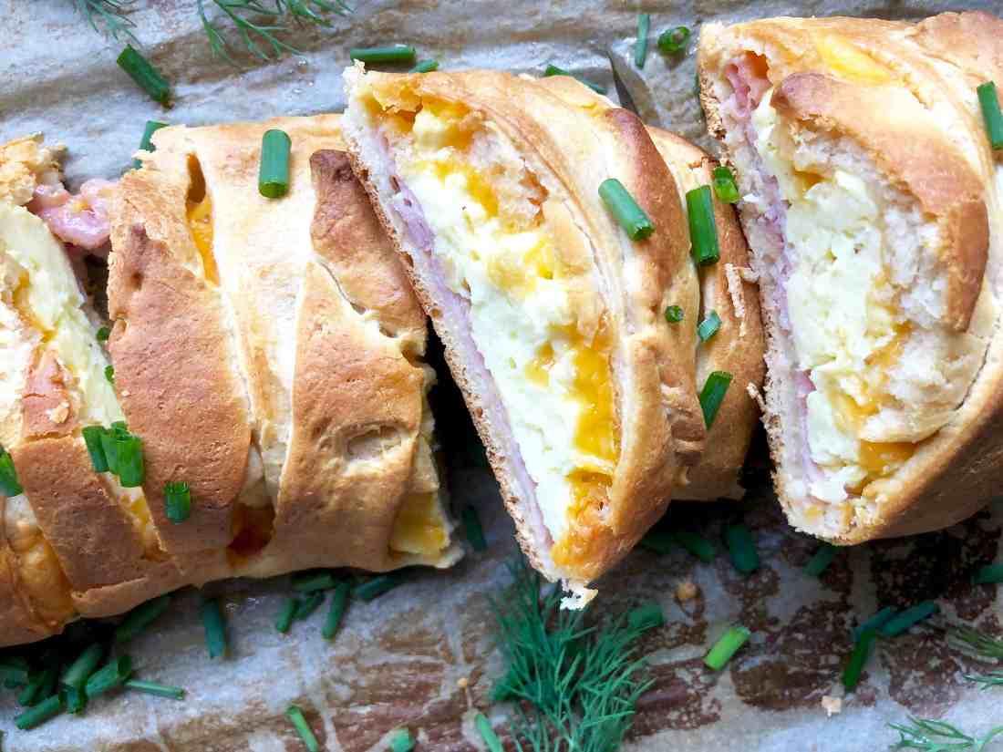 braided breakfast loaf