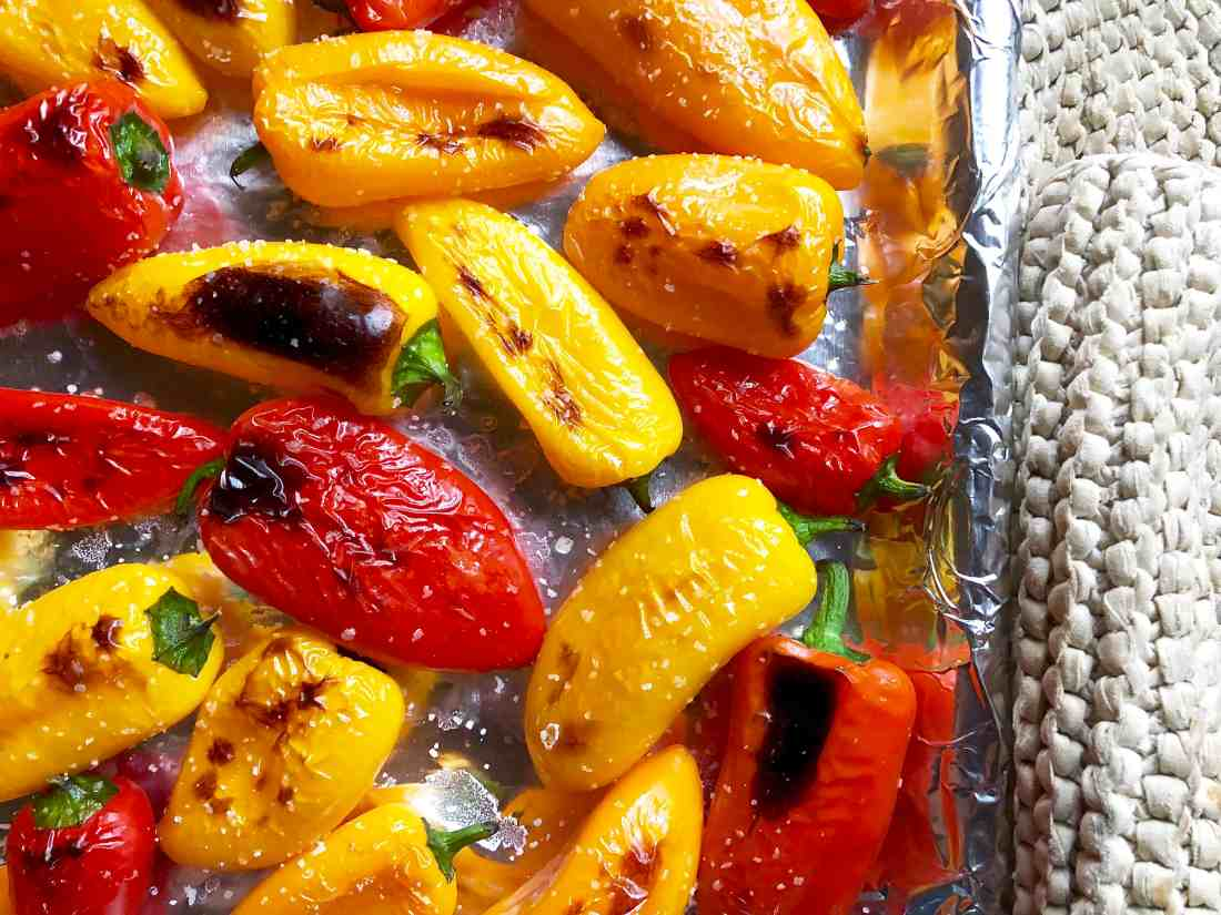queso-filled mini peppers