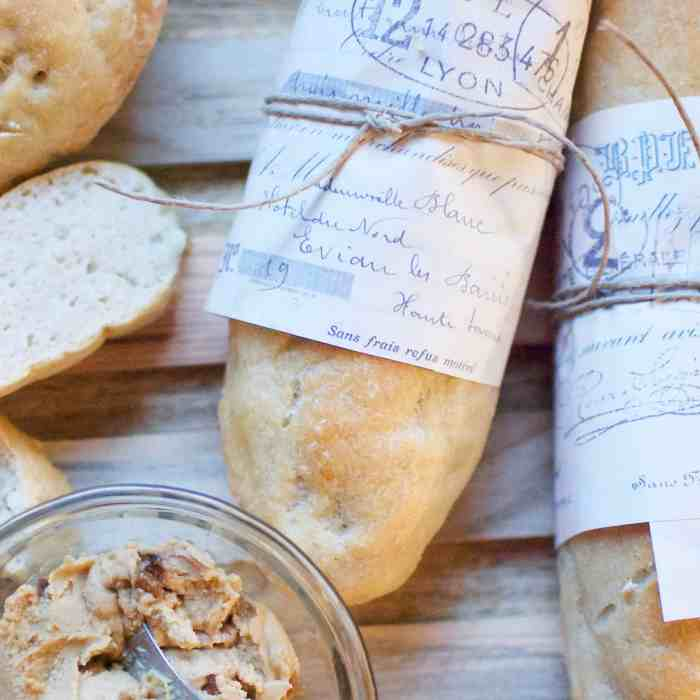 gluten-free mini baguette