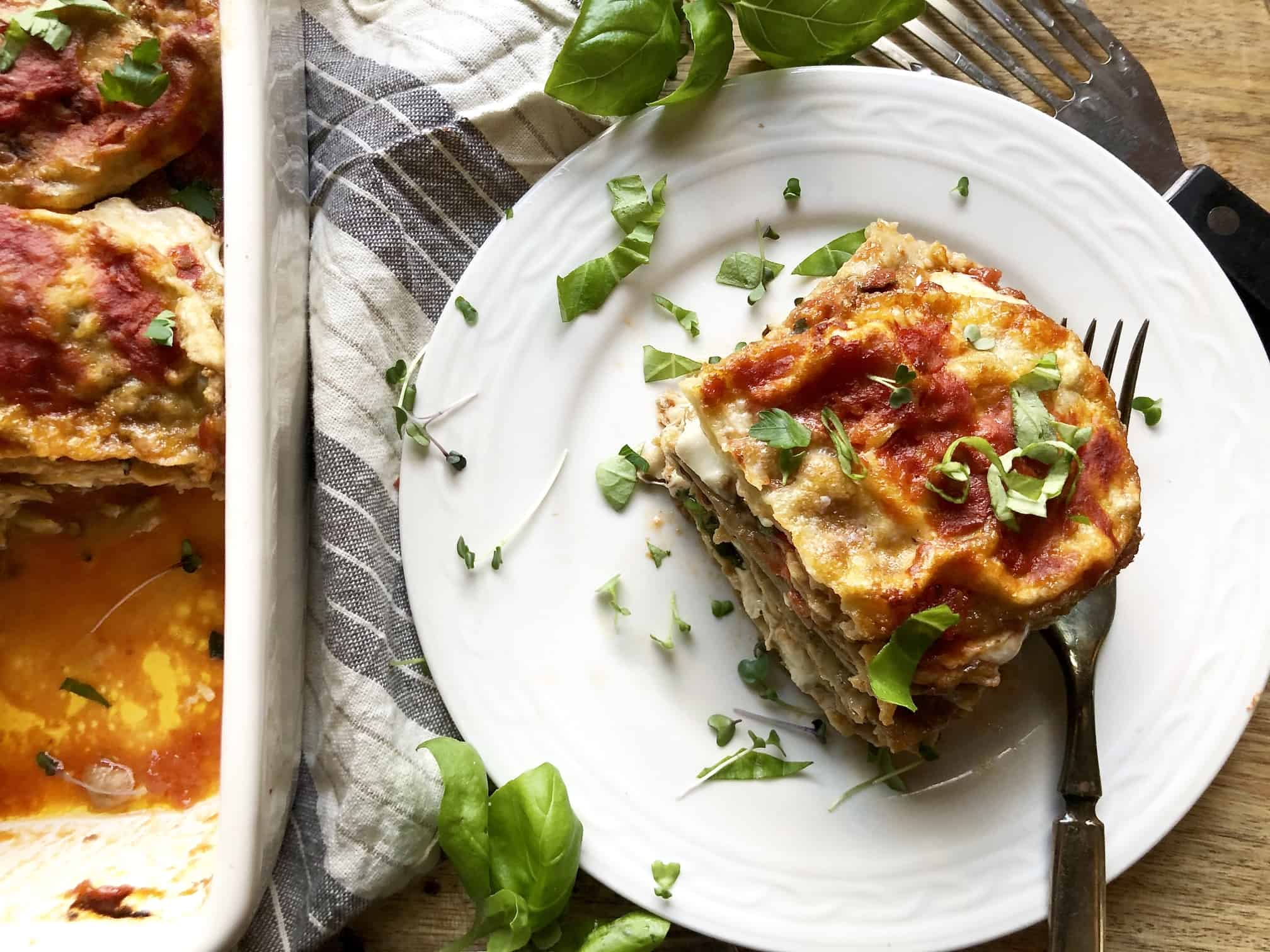gluten-free (or-not) authentic eggplant parmesan