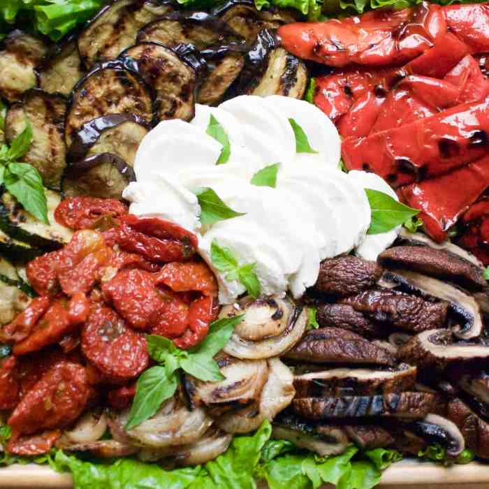crowd-pleasing grilled vegetables