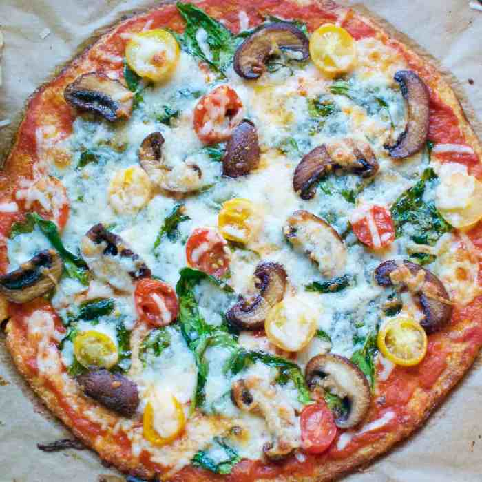 the ultimate cauliflower crust pizza