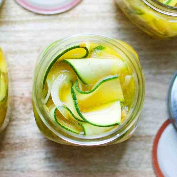 Zuni Cafe Zucchini Pickle Strips