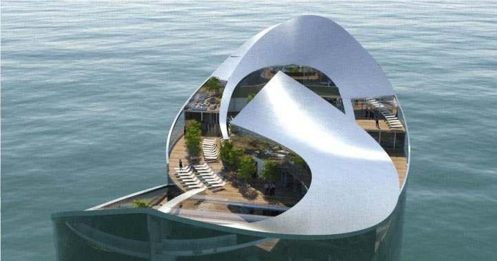 تقرير حول الفنادق العائمة في قطر لكأس 2022 مع مجموعة من صور اضخم الفنادق