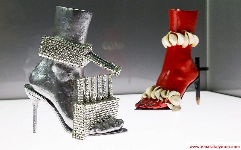 مجموعة من أغرب الأحذية في العالم