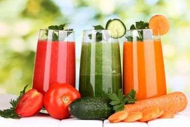 ريجيم العصير