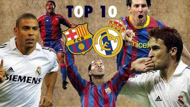 بالفيديو أفضل 10 أهداف في الكلاسيكو