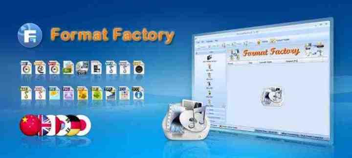 برنامج Format Factory 3.5.1 تحميل مباشر