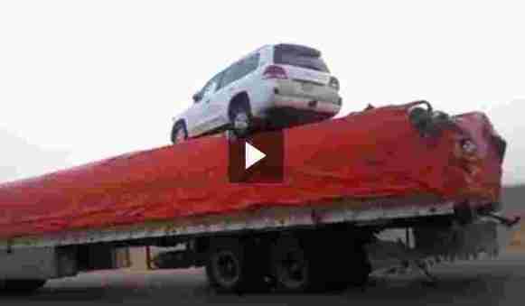حادث فريد من نوعة في السعودية