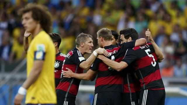 بالفيديو.. اهداف مباراة المانيا والبرازيل 7-1 فضيحة البرازيل