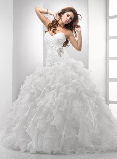 بالصور فساتين زفاف