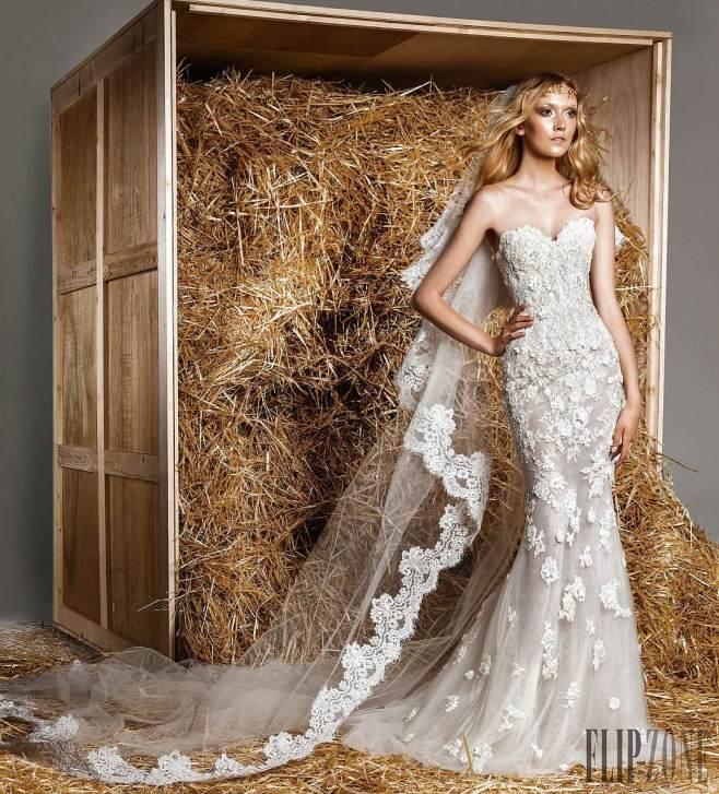 فساتين زفاف مراد وتشكيلة عام  2015