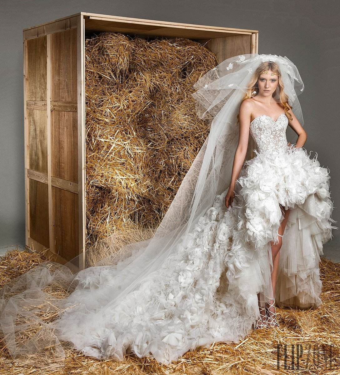 صور فساتين زفاف زهير مراد وتشكيلة عام 2015